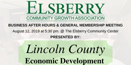 ECGA Business After Hours & Meeting tickets