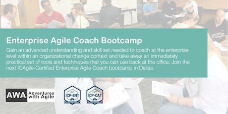 Enterprise Agile Coach Bootcamp (ICP-ENT & ICP-CAT)   Dallas - November 2019 tickets