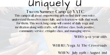 Uniquely U Tween Camp tickets
