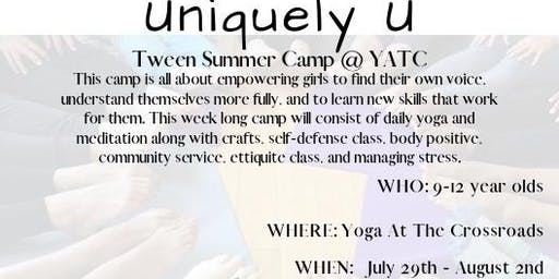 Uniquely U Tween Camp