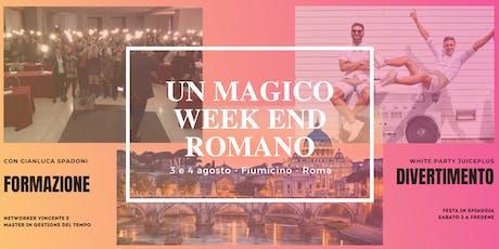Un Magico Week End Romano biglietti