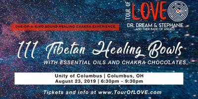 111 Tibetan Healing Bowls, Essential Oils & Raw Cacao Experience, Sound Healing, Columbus, OH