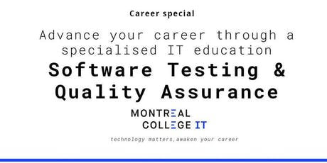 Career pathway program Software Testing and Quality Assurance  tickets