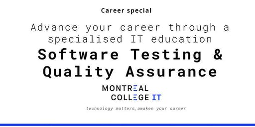 Career pathway program Software Testing and Quality Assurance