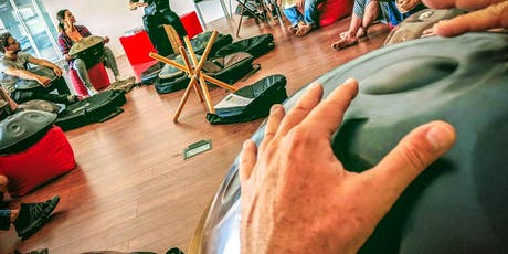 Handpan first touch workshop. billets