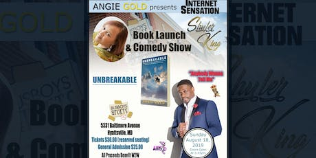 Shuler King Comedy & Angie Gold Book Launch tickets