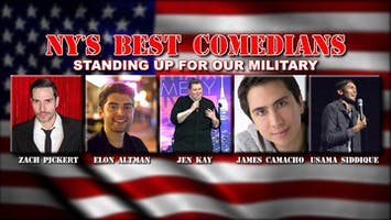 New York's Best Comedians Standing Up For Military July 4th Weekend