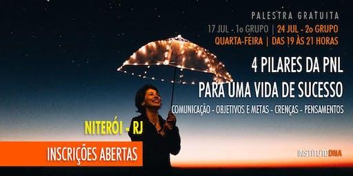 PALESTRA GRATUITA - OS 4 PILARES DA PNL PARA UMA VIDA DE SUCESSO