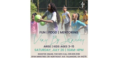 VBS (Very BIG Saturday)The biggest ARISE Saturday of the year!