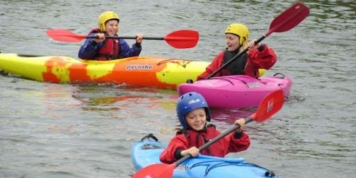 Summer Family Kayak Session