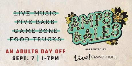 Amps & Ales Festival tickets