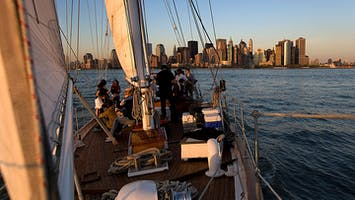 Wine Tasting Sail Aboard the Shearwater Classic Schooner