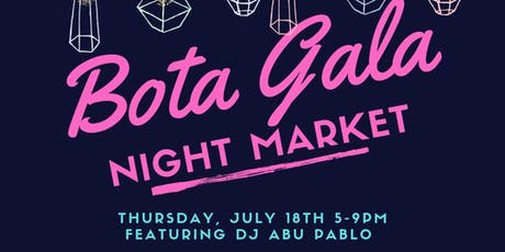 Bota Gala Night Market tickets