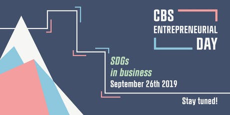 CBS Entrepreneurial Day 2019: SGDs in Business tickets