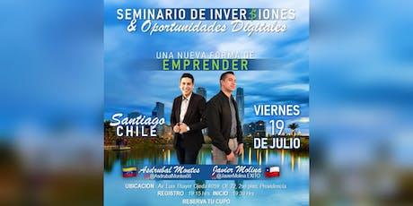 SEMINARIO DE INVERSIONES & EMPRENDIMIENTO DIGITAL entradas