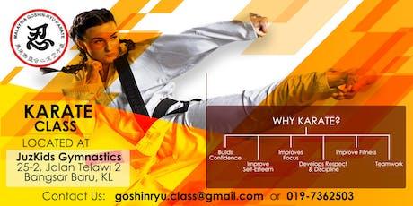 Children Karate Class (Free Trial Class) tickets