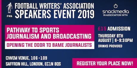 Football Writers' Association: Opening the Door to BAME Journalists tickets