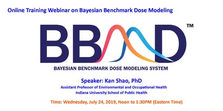 Webinar on Bayesian Benchmark Dose (BBMD) Modeling with Demonstration tickets