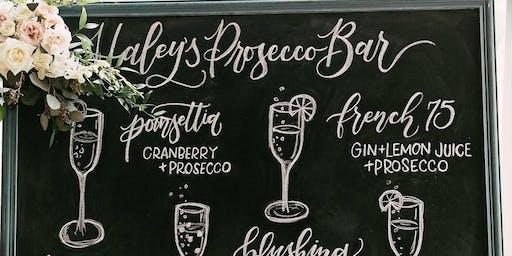 chalkboard art & hand-lettering {w/ lucky13 letters}