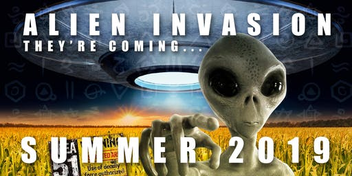 New House Farm Maze - Alien Invasion