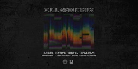Full Spectrum tickets