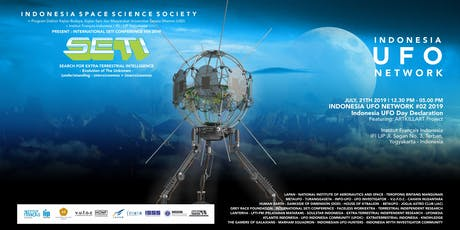 #2nd day : International SETI Conference #04 2019 - Evolution of The Unknown - (under)standing: (micro)cosmos + (macro)cosmos tickets