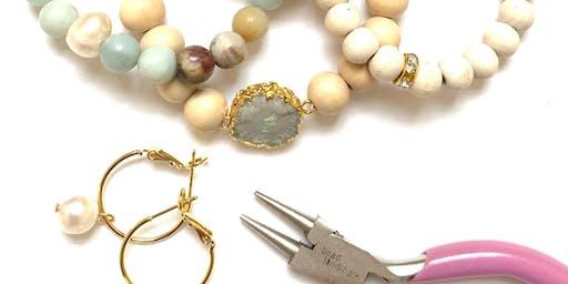 stackable bracelets! jewelry-making 101 {w/ good egg jewelry}