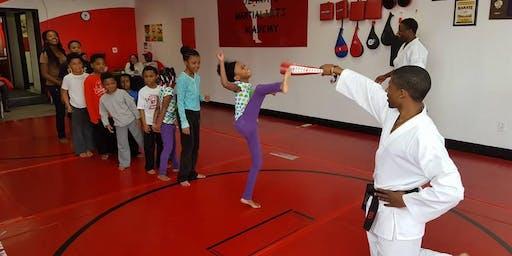 Kid's Karate for Concentration Workshop!