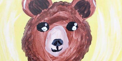 Creative Canvas for Kids - Bear