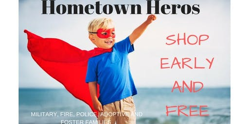 FREE Teachers, Adoptive/Foster Parents, Military, EMT, Doctors, Nurses (Reg. $5) Sept. 27th 3-8:30pm (Children Must be in a stroller or carrier before 4pm)