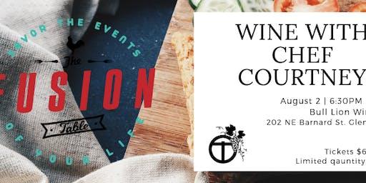 Wine W/Chef Courtney @ Bull Lion Wine Shop | Glen Rose