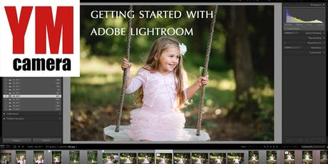 Introduction to Lightroom tickets