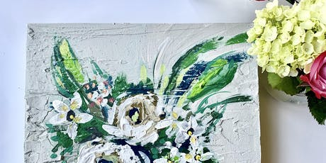 'fresh florals' acrylic painting {w/ erika roberts} tickets