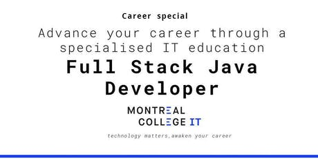Career pathway program in Java Full Stack Developer billets