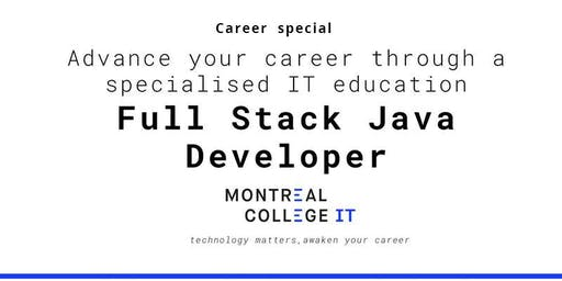 Career pathway program in Java Full Stack Developer