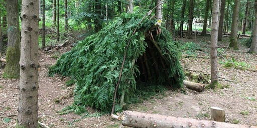Ampthill Great Park Bushcraft  - Session 5 - Shelter