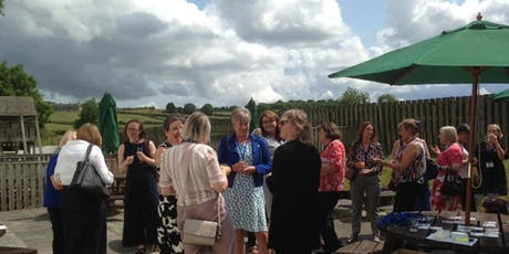 Bubbles in Bishop ladies' networking tickets