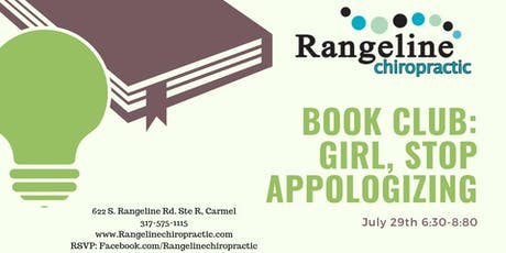 "Book Club: ""Girl, Stop Apologizing""  tickets"