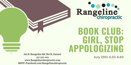 "Book Club: ""Girl, Stop Apologizing"""
