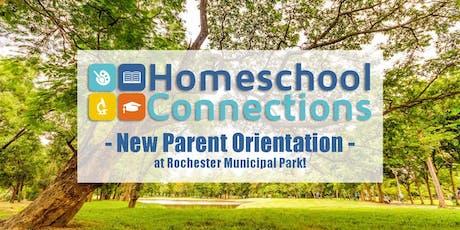 New Parent Orientation at Rochester Municipal Park tickets