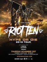 Bass Nation Presents: Riot Ten w/Jessica Audiffred & Throwdown