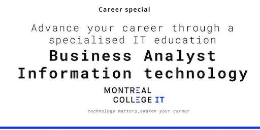 Career pathway program Business Analyst  IT
