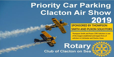 Orange Priority Parking, Clacton Air Show 2019, 22nd and 23rd August 2019 tickets