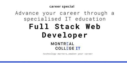 Career pathway program in Web Developer program