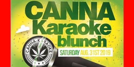 CannaKaraoke Blunch tickets