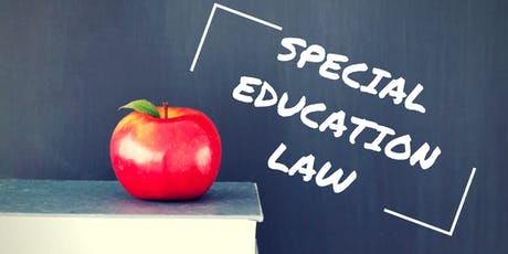 Special Education Law tickets