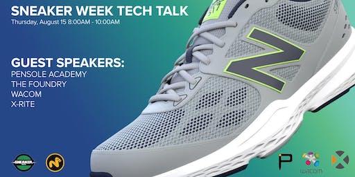 Sneaker Week Tech Talk feat. Wacom // Modo // X-Rite // Pensole Academy