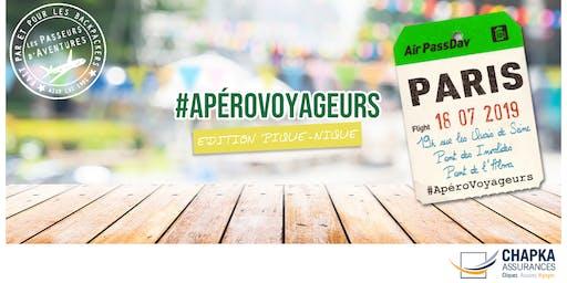 #ApéroVoyageurs Pique-nique à Paris