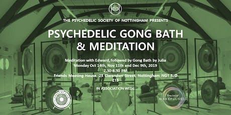 Psychedelic Gong Bath & Meditation tickets