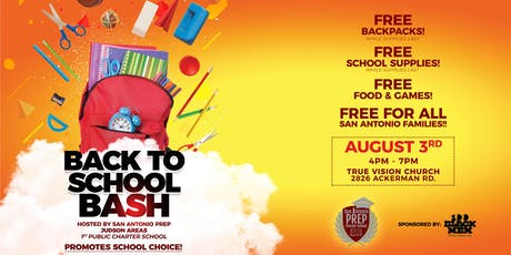 SA Prep Community Back to School Bash! tickets